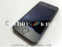 matt black full body vinyl Skin Sticker For iPhone 4,4S,5