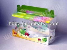 2012 high grade pet clear box