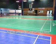 portable pvc badminton floor mat
