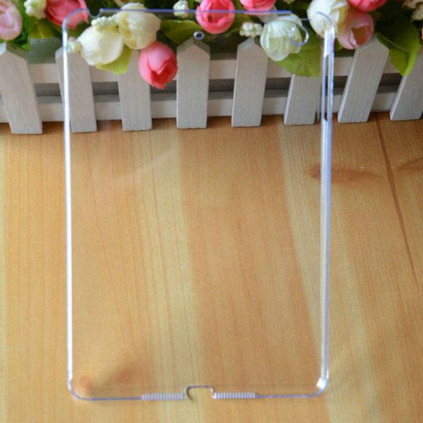 for ipad mini back cover transparent plastic cover case