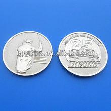 round shape sport silver commemorative coin
