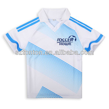 2012 wholesale youth 100% polyester soccer jersey