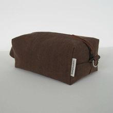 men's toiletry canvas bag