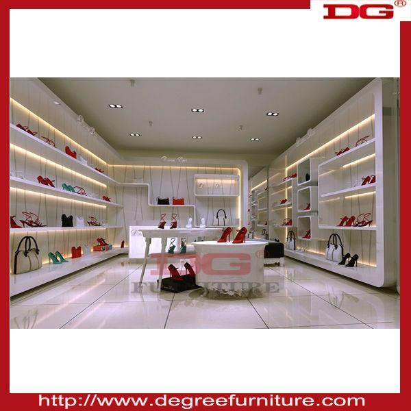 Nuevo estilo de los zapatos tienda de dise o de interiores - Lo ultimo en diseno de interiores ...