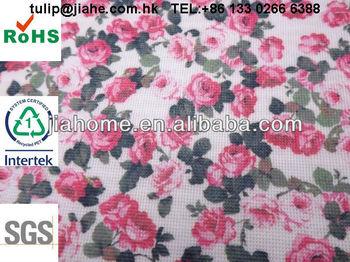 Tennis print stitchbond nonwoven fabric
