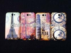 Paris Travel LA Tour Eiffel Tower Case for Samsung Galaxy Note II 2 N7100