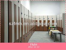 z-shape phenolic resin compact removable lockers