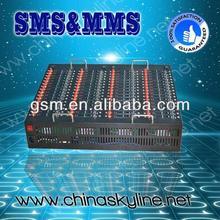Wavecom 64 ports GSM SMS Modem support AT command ,mini gsm gps module