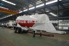 Quick Unloading 32CBM Tandem-axle Bulk Cement Tank Trailer In Truck Semi Trailer Or Semi-trailer Trcuk For Hot Sale