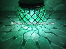 Mosaic style glass solar powered SOM1005G