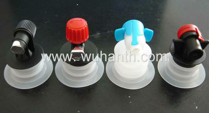 Wine bag in box tap&spout&valve