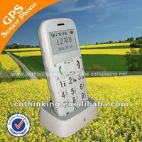 GS503 Simple senior phone with gps, 9 languages, original manufacturer, best price