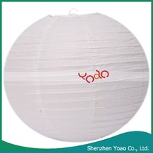 2012 Chinese Traditional Round Paper Lanterns For Home Decoration