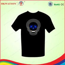 2013 Shenzhen LED shirt rum promotional luminous ribbons