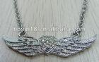 Angel heart & wings necklace fashion jewelry