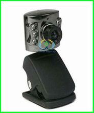 New USB Night Vision Webcam Webcam Camera For PC