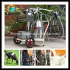 Portable milking machines for cows