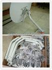 ku band hd tv offset outdoor fiberglass satellite dish antenna