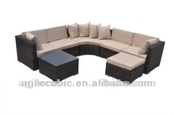 10005 Luxury Wicker Outside Furniture