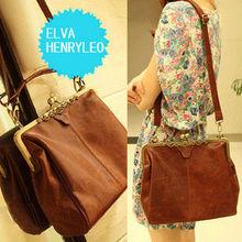 New arrival restro style fashion hasp women high quality PU handbags name brand ladies bag 2013