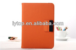 leather wallet case for mini ipad with pen stylus