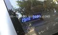 Aliexpress sostegno speciale simboli 12v/24vled segnaletica per le auto/led auto finestra segno messaggio/auto display a led segno