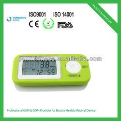 Keep walking 3d g-sensor multi-function 6 tracking mode 7 days memory digital pedometer