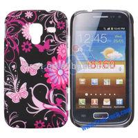 Newest Pretty Pattern Plastic Hard Back Case for Samsung Galaxy Ace 2 i8160