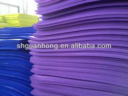 Insulation pvc nbr rubber foam tape /NBR Yoga Mat/NBR mat