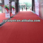 wedding material plain carpet