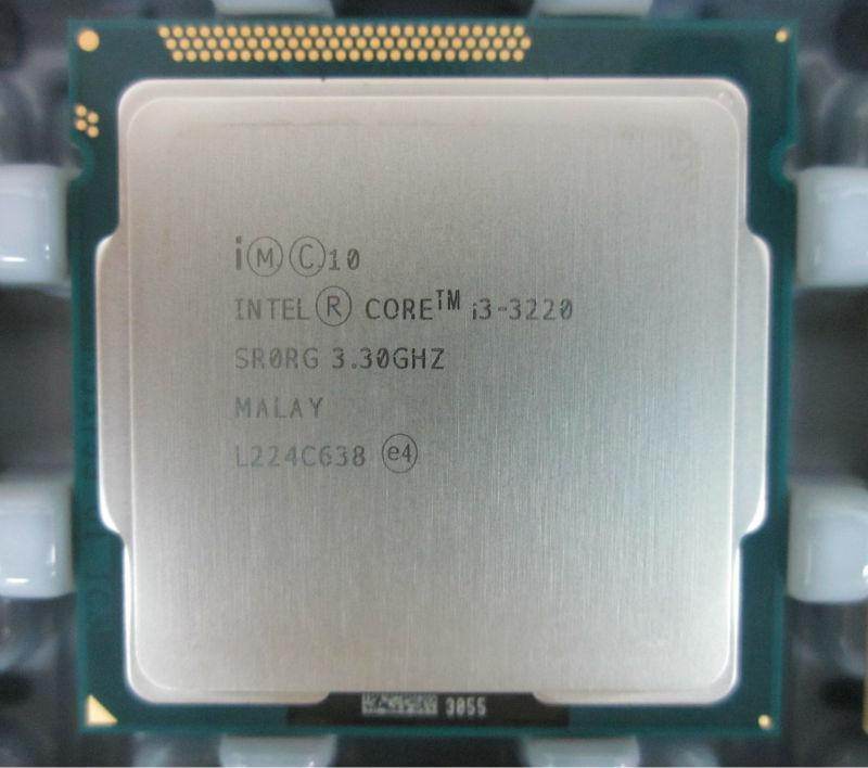 Intel Core i3-3220 Processor ( 3 M cache, 3.30 GHz )