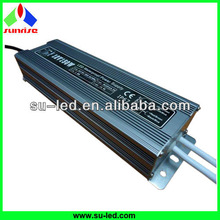 Output 2 wires waterproof transformer 150w 12v