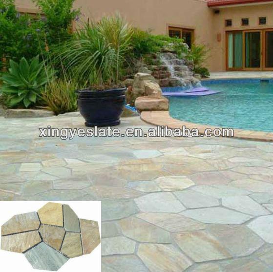 Exterior pavimento de piedra piedra de pavimentar - Pavimentos exteriores baratos ...