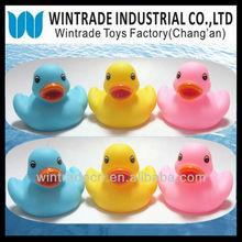 8CM Blue Duck/Yellow Duck/Pink Duck,Bath Floating rubber duck
