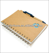 2012 FSC notebook with pen