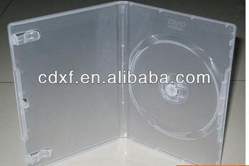 7MM TRANSPARENT single DVD CASE/DVD BOX/DVD COVER