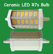 2012 New Model!!! 8W 36smd R7S 118mm with Cover // Ceramic body, No Electric Shock!!!