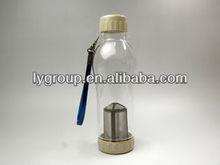 HOT! 24pcs/lot , 740ML teapot with filter element +heat protection bag , travel tea filter cup , tea filter Water Bottle