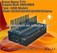 Promotion ! 32 ports GSM/GPRS sms Modem for sending bulk sms usb router