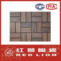 High quality wood grain porcelain tile MPO-012-5 208x100x12mm