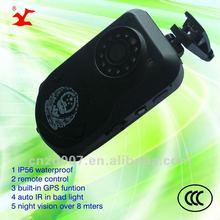 h.264 waterproof IP56 professional wireless 3300mAh battery remote control dvr professional