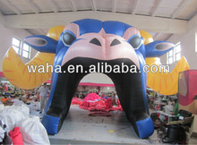 Attractive inflatable mascot tunnels//inflatable horse/inflatable cube tent