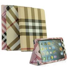 luxury leather case for ipad mini stand smart case for ipad mini