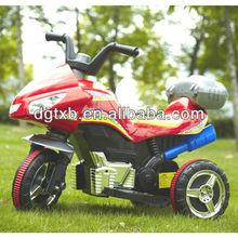toy for child with 6V battery, safe backrest