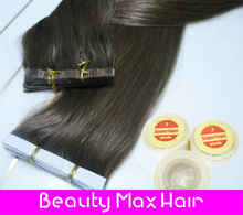 2013 New Coming Platinum Blonde Color Wholesale Brazilian Remy Skin Weft Tape Hair Extensions