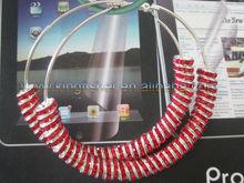 Jewelry crystal rhinestones poparazzi Styles basketballs wives earrings!! Fancy basketball wive earrings for Fashion Ladies!! !!