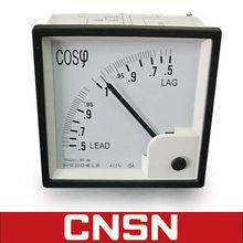 96 Power Fact Meter/Panel meter/Analog meter