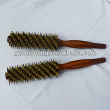hair brush manufacturer wooden handle hair brush extension