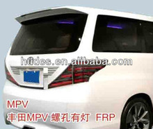 ABS material Spoiler for Toyota MPV