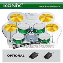 protable usb midi drum kit for chirstmas promotion